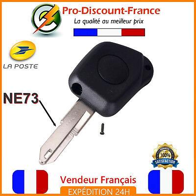 1 Coque Clé Télécommande Pour Peugeot Citroen Avec Lame NE73 1 Bouton