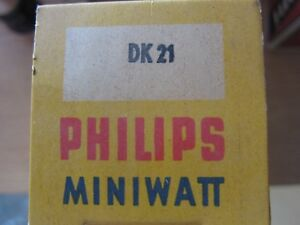 DK21-TUBE-ROHRE-LAMPE-VALVE-VALVOLA-VALVULA-NOS-NIB-1-PC