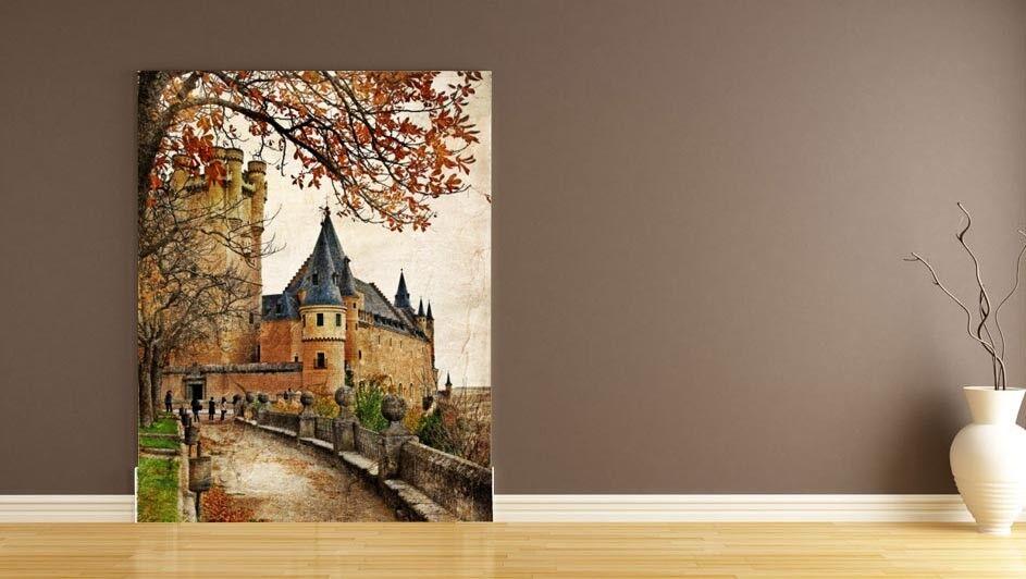 3D European Castle 8 Wall Paper Murals Wall Print Wall Wallpaper Mural AU Summer