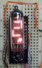 NUMI-311 Numitron TIL311 replacement Nixie-era display kit for COSMAC ELF