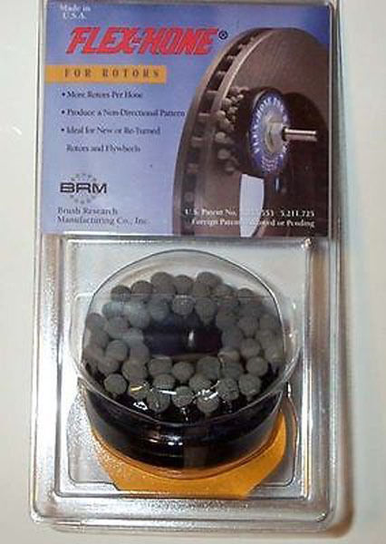 Pack of 1 Brush Research Flex-Hone For Rotors Medium Grit Brush Research Manufacturing