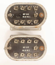 Vintage Western Electric REP 111C Matched Transformer Pair NOS