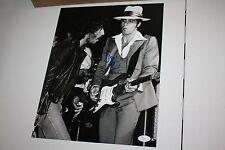 Steven Van Zandt E Street Band Autographed 11x14 Photo w/ Bruce Springsteen JSA