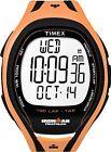 """Timex T5K254, """"Ironman"""" Tapscreen Orange Resin Watch, 150-Lap, Alarm, Indiglo"""