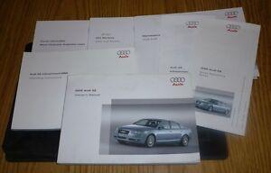 2005 audi a6 sedan owners manual set guide 05 w case mmi navi ebay rh ebay com 2005 audi a6 service manual 2005 audi a6 owners manuals online