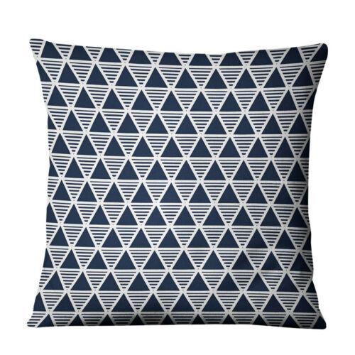 Home Sofa Cushion Pillowcases Car interior Decor Geometric Pattern Pillow Cover