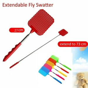 Pest-Insect-Killer-Indoor-Telescopic-Fly-Swatter-Anti-Mosquito-Stainless-Steel-J