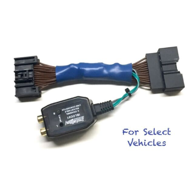 Add An Amp Amplifier Adapter to OEM Radio for some Ford