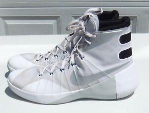 885d606b8884 Nike Hyperdunk 2015 TB White BB Shoes 749645-100 Mens Sz 18 (Excell ...