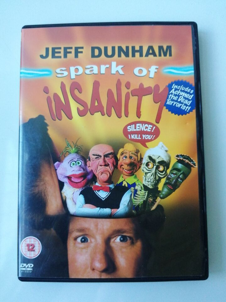 JEFF DUNHAM .spark of insanity., DVD, stand-up