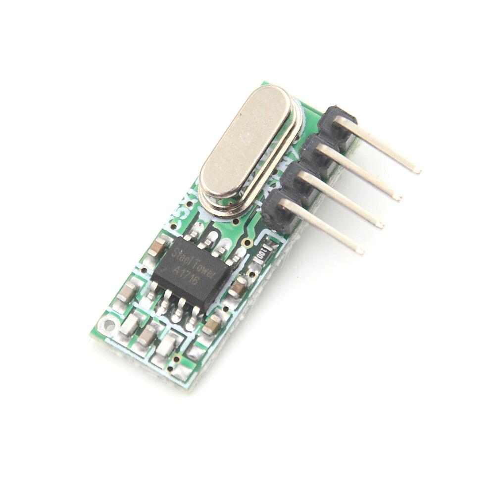 1PC RX500A 433mhz Superheterodyne RF Relay Wireless Receiver Module T/_ns