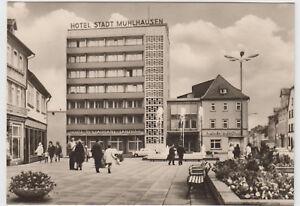DDR-AK-Muehlhausen-1970-Hotel-Stadt-Muehlhausen-und-Pilsner-Bierstube