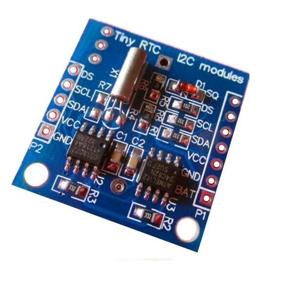 5PCS  I2C RTC DS1307 AT24C32 Real Time Clock NEW