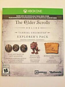 Elder Scrolls Online Preorder Bonus DLC Explorer's Pack (Xbox One Series X|S)