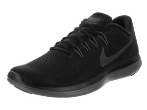 4fbe5b8cf780e Nike Flex 2017 RN Running Shoes Black Anthracite Gray 898457-005 ...