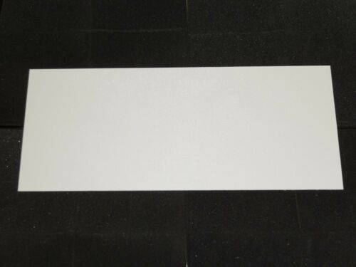4 White ABS Plastic Sheet 12x7x1//8 Vacuum Forming//Car//Interior//Customize//Hobby