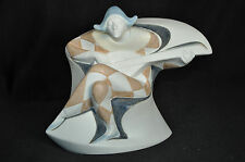 LLADRO Harlequin Utopia Collection Gres Mate Porcelain Figurine New