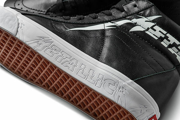 NIB Vans Metallica Limited Ed Kirk Hammett SK8 -Hi  Reissue - ultime coppie  negozio outlet