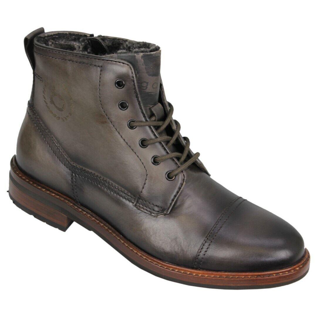 Bugatti Herren Schuhe Stiefel Stiefel grau 311 78151 1100 1100 dark grau