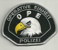 HESSEN  OPE Polizei OPERATIVE  EINHEIT 2015! Patch Abzeichen (SWAT-SEK-MEK)