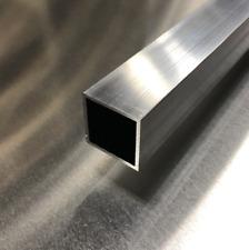 1 X 1 Aluminum Square Tubing 48 Long Mill Finish 6063 Alloy T5 Temper