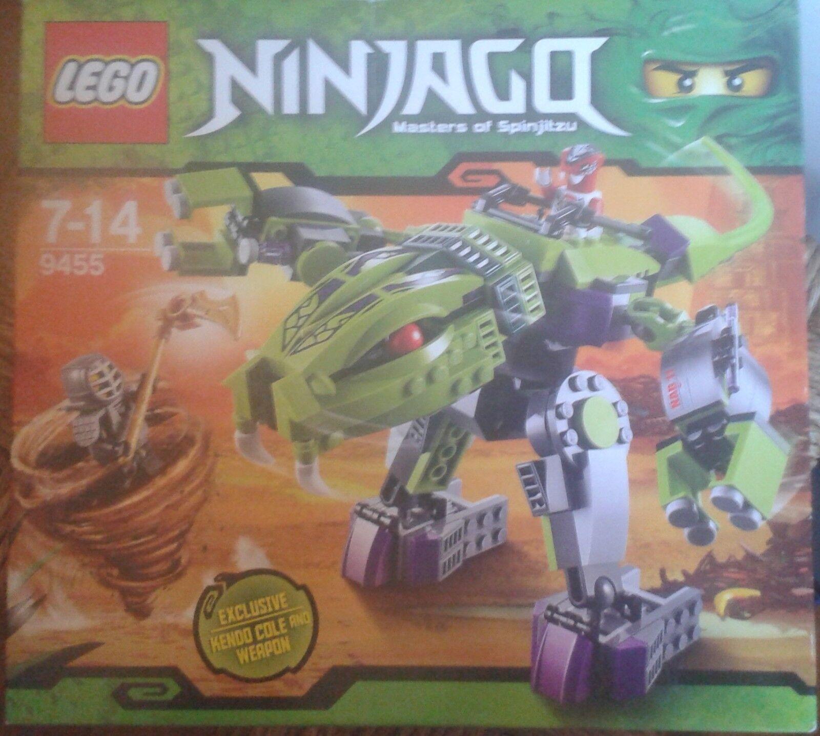 LEGO NINJAGO-9455- ROBOT FANGPYRE-8 14 ANS-NEUF SCELLE