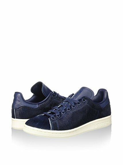 Adidas Originals Stan Smith Pony hair OrthoLite  Collegiate Navy Homme Chaussures
