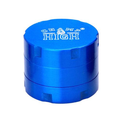 30mm Blau Grinder Kräutermühle Gewürzmühle Champ High Grinder Classic 3 Tlg