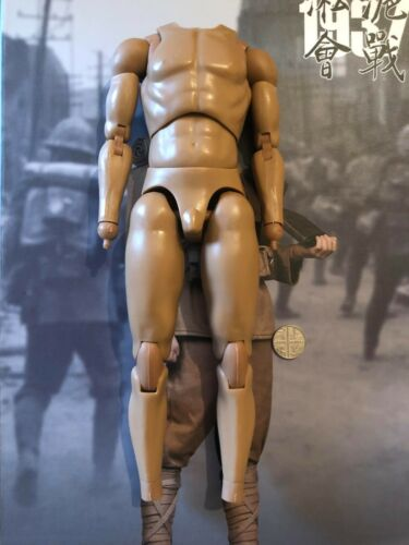 """WAR STORY Japanese Army Taisho Gunner 12/"""" Nude Body loose 1//6th scale"""