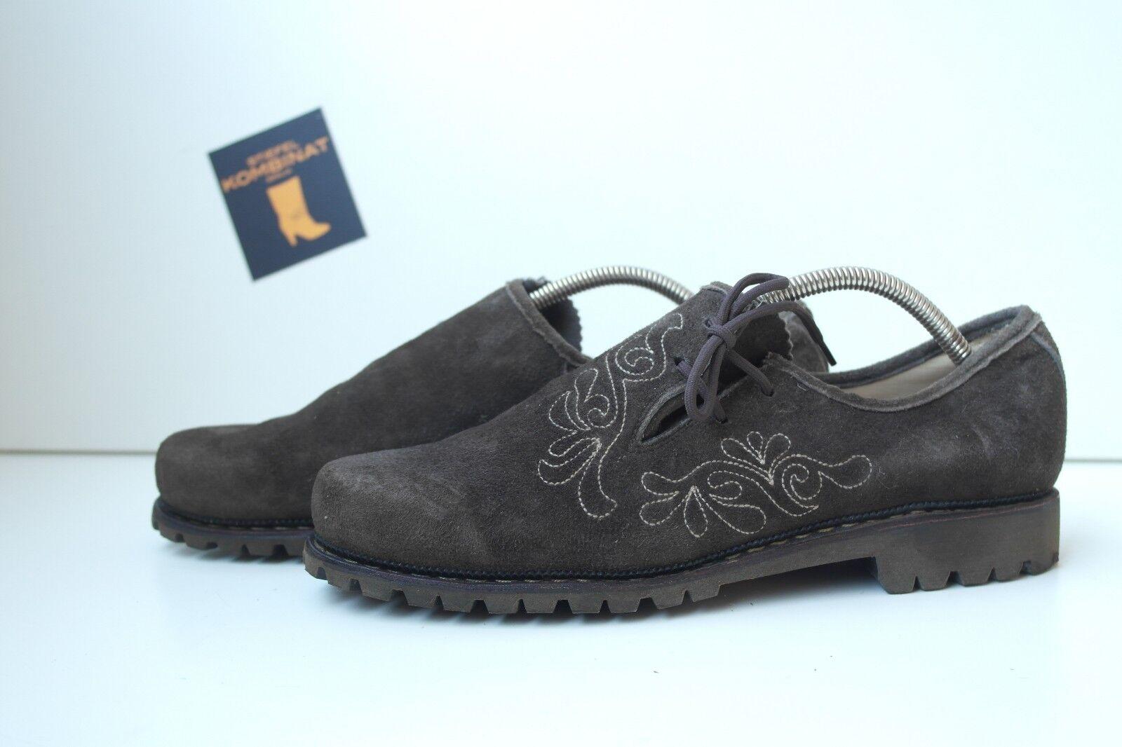 Caballero zapatillas Trachten Wiesn zapato bajo True True True vintage folklore marrón marrón loafer  orden ahora disfrutar de gran descuento