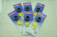 6x Scepter Gas Can Replacement Parts Kit 03583 Screw Vent Cap Stopper