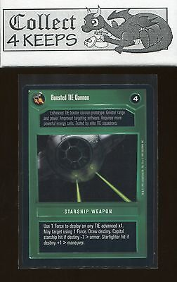 Quad Laser Cannon Star Wars CCG Premiere Limited BB Played SWCCG