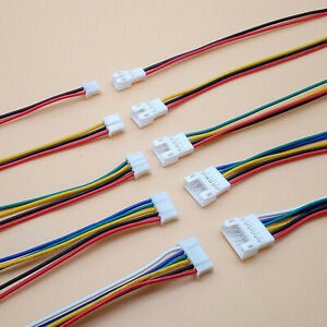 10 Pair Micro Male Female PH Plug Connector Wire Cables 100mm 2.0 2//3//4//5//6 Pin