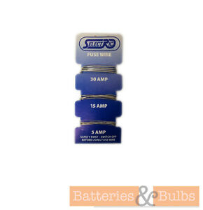 5A-15A-30A-Amp-Carded-Fuse-Wire-Pack-of-1