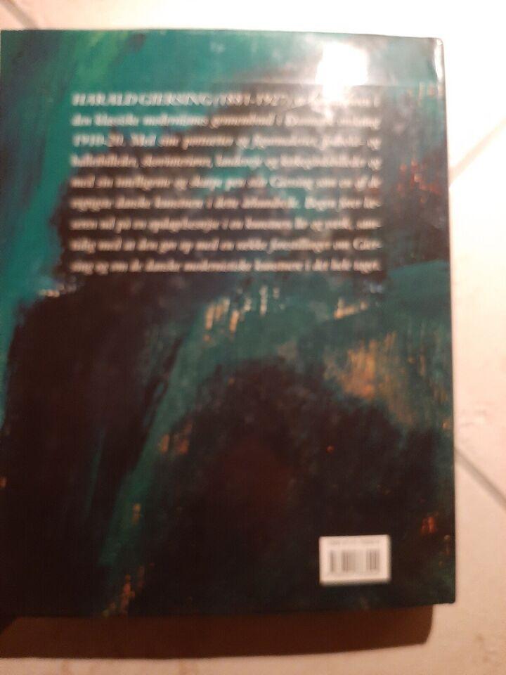 GIERSING, Lennart Gottlieb, emne: kunst og kultur