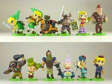 Set Of 12 Pcs The Legend of Zelda Furuta Choco Egg 3cm-5cm Pvc Action Figure