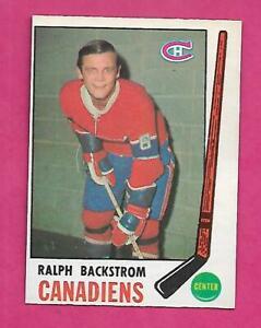 1969-70-OPC-166-CANADIENS-RALPH-BACKSTROM-NRMT-CARD-INV-C2183