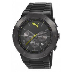 Reloj-PUMA-reloj-de-Pulsera-Reloj-para-hombre-Blast-Black-Chrono-pu103701002