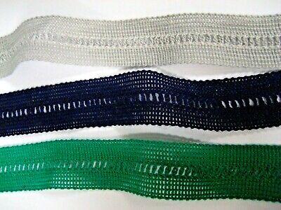 Blue Strap Cotton Fabric Ribbon Trim