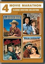 4 Movie Marathon: Classic Western Collection NEW!