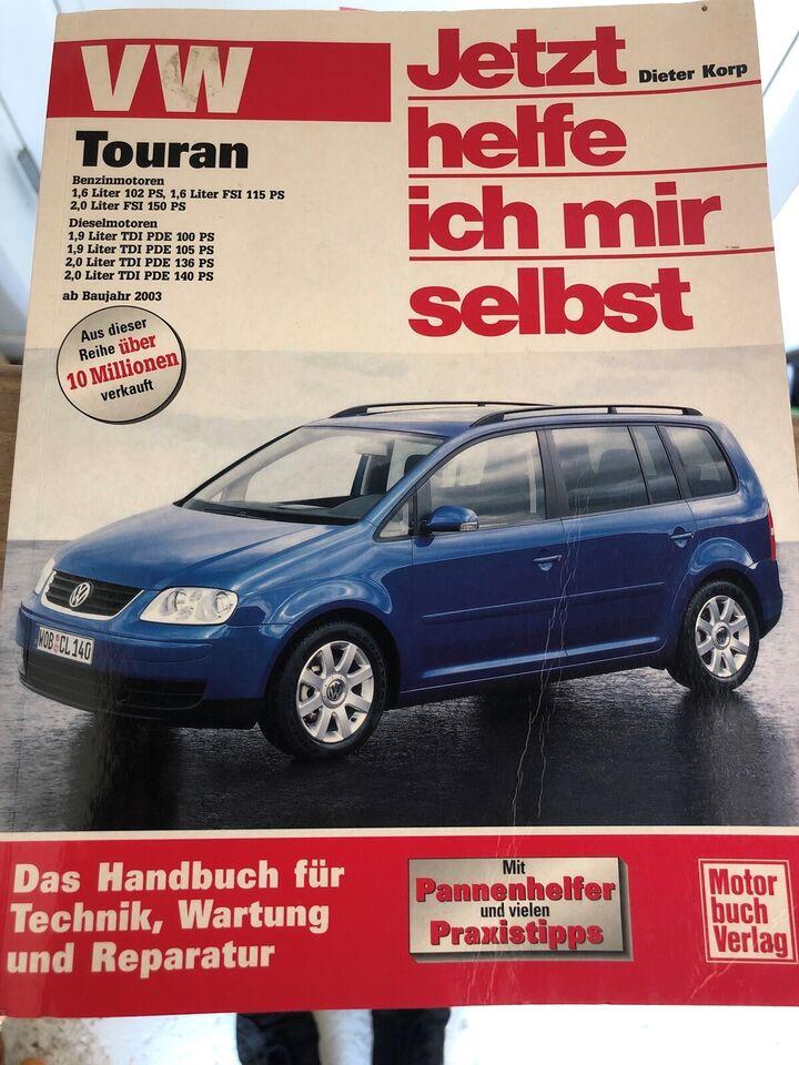 Reparationshåndbog, Reparationshåndbog VW Touran T1