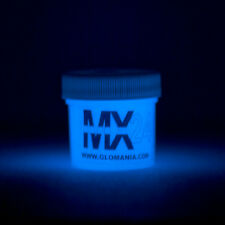 BLUE MX24 Extreme Glow in the Dark Paint Daytime Invisible Range 1oz