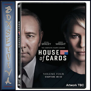 HOUSE OF CARDS - COMPLETE SEASON 4  *BRAND NEW DVD** 5035822860452