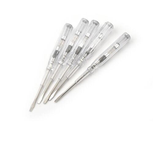 1pc Electrical Tester Pen Screwdriver 100-500V Voltage Test Power Detector H SE