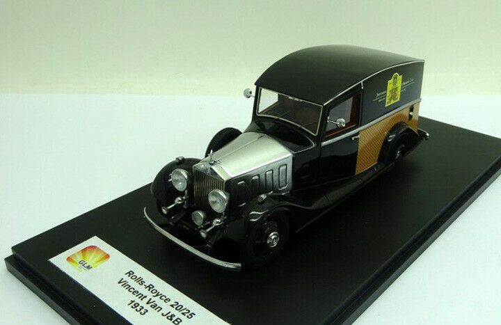Rolls Royce 20 25 Delivery Van  Justerini & Brooks   1933 (GLM 1 43   43205101)  vente directe d'usine