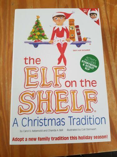 Elf on the Shelf Scout Fille Elf Neuf avec Storybook
