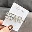 Fashion Pearl Metal Hair Clip Hairband Comb Bobby Pin Barrette Hairpin Headdress