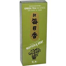 Japanese Morning Star Green Tea Incense 200pcs NK-98721 S-1673