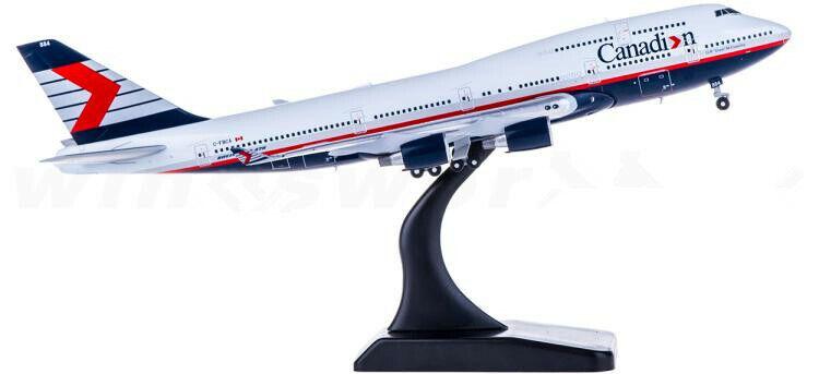 1 400 JC vinges Canadian Airlines BOEING 747 Passagerarplan tärningskast modelllllerler