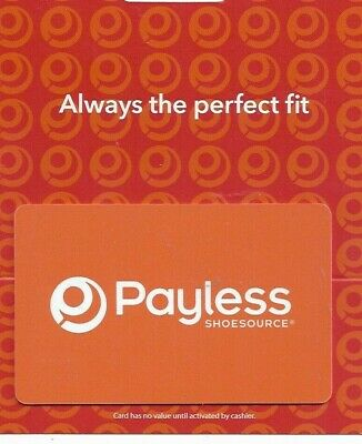 NO VALUE PAYLESS SHOES  GIFT CARD
